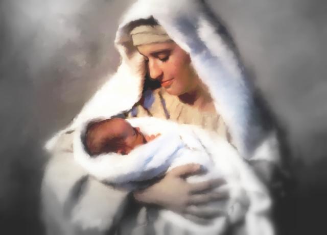 mary-woman-baby-jesus
